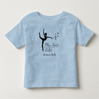 Aviano Ballet Program Toddler T-Shirt