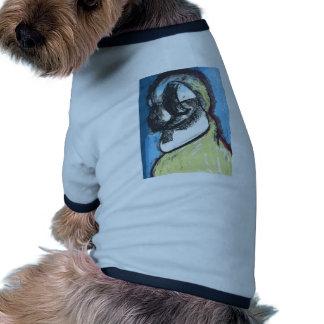 Aviar meditativo camisetas de mascota