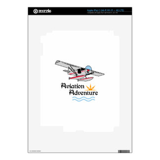 Aviation Adventure iPad 3 Skins