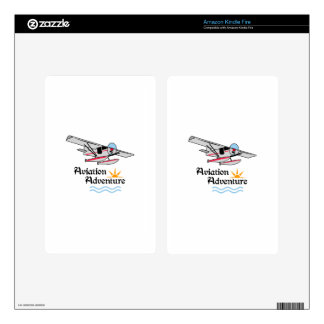Aviation Adventure Kindle Fire Skin