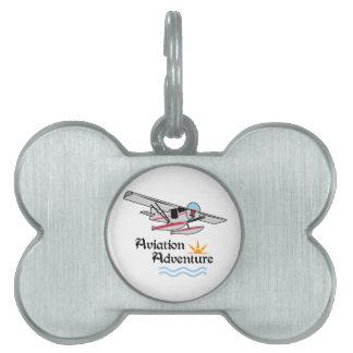Aviation Adventure Pet ID Tag