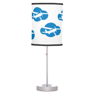 Aviation Airplane & Cloud Table Lamps