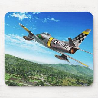 "Aviation Art Mousepad ""F-86 Sabre """