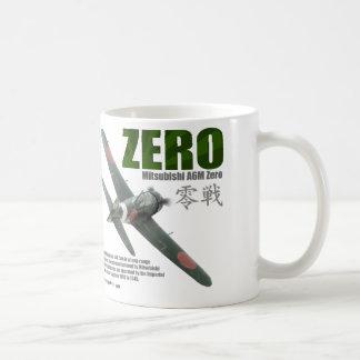"Aviation Art mug ""A6M ""Zero """" Zero fighter"