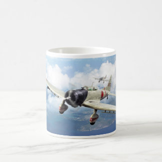 "Aviation Art Mug ""Aichi D3A ""Val """
