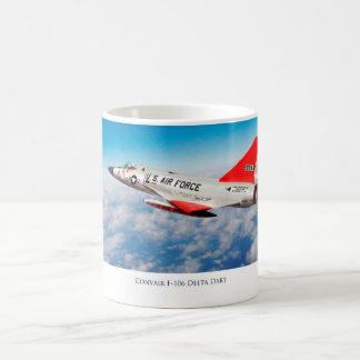 """Aviation Art Mug """"Convair F-106 Delta Dart """""""
