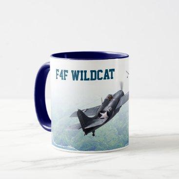 """Aviation Art Mug """"F4F Wildcat """""""