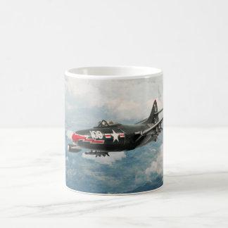 """Aviation Art Mug """"F9F Panther """""""
