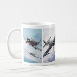 "Aviation Art Mug ""Fighter of World War II """