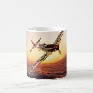 "Aviation Art mug ""Kawasaki Ki-61 Hien ""Tony """