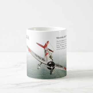 "Aviation Art Mug ""Mitsubishi A5M Claude """