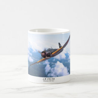 "Aviation Art mug ""Mitsubishi A7M SAM """