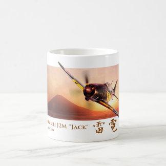 "Aviation Art mug ""Mitsubishi J2M Raiden ""Jack"""
