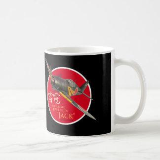 "Aviation Art mug ""Mitsubishi J2M Raiden""Jack"""