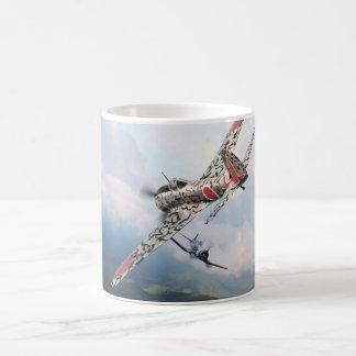 "Aviation Art mug ""Nakajima Ki-43 隼 Oscar """