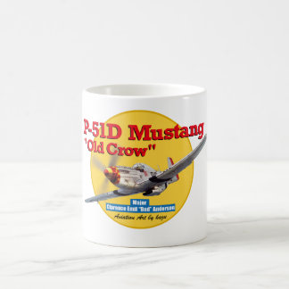 "Aviation Art Mug ""North American P-51 Mustang """