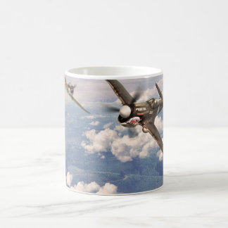 "Aviation Art mug ""P-40 Warhawk """