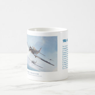 "Aviation art mug ""TBD-1 Devastator """