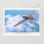 "Aviation Art Postcard ""九七式艦上攻撃機 B5N2 Kate"""