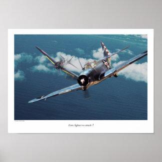 "Aviation Art Poster ""Douglas TBD Devastator """