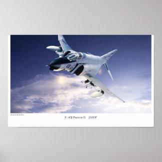 "Aviation Art Poster ""F-4 Phantom II JASDF"""