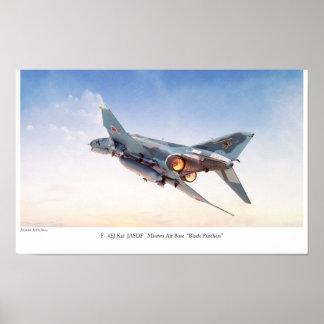 "Aviation Art Poster ""F- 4EJ Kai JASDF"""