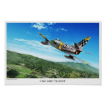 """Aviation Art Poster """"F-86 Sabre"""" プリント"""
