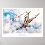 "Aviation Art Poster ""Hawker Sea Fury """