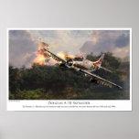 """Aviation Art Poster """"Skyraider"""""""