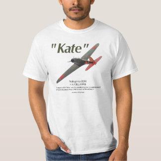 "Aviation Art T-shir ""attack plane ""Kate """" on T-Shirt"