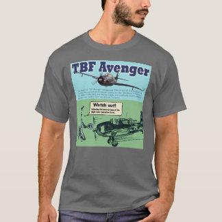 """Aviation Art T-shirt """"Grumman TBF Avenger """""""