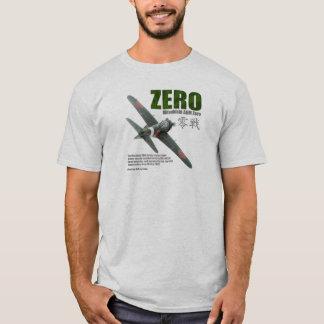 "Aviation Art T-shirt ""Mitsubishi A6M Zero """