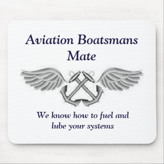 Aviation Boatsmans Mate Mousepad