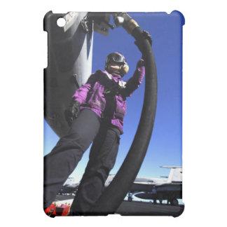 Aviation Boatswain's Mate Airman fuels an aircr iPad Mini Case