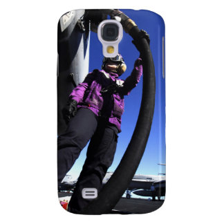 Aviation Boatswain's Mate Airman fuels an aircr Samsung S4 Case