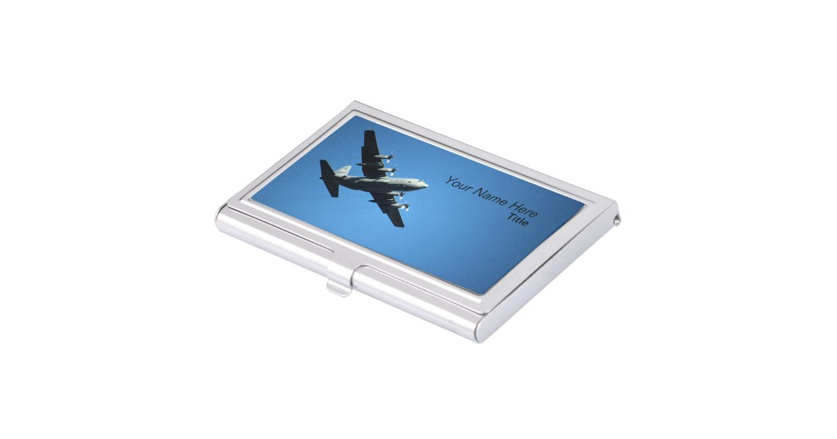 Aviation business card holder zazzle for Airplane business card holder
