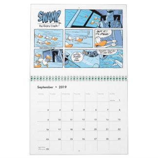 Aviation Cartoons 12 Month Calendar