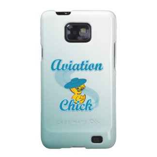 Aviation Chick 3 Samsung Galaxy S2 Cover