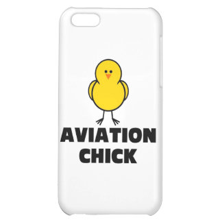 Aviation Chick iPhone 5C Covers