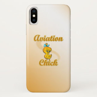 Aviation Chick iPhone X Case