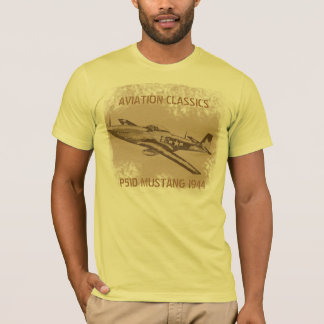 Aviation Classic The Mustang T-Shirt