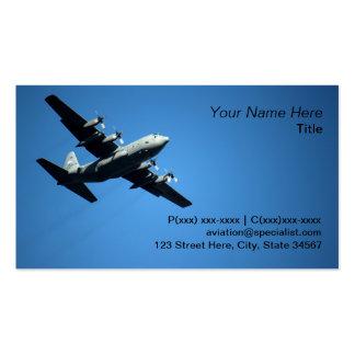 Aviation expert business card