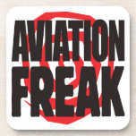 Aviation Freak Drink Coaster