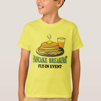 Aviation Fundraiser Fly-In Event T-Shirt