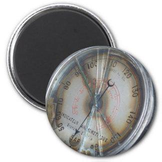 Aviation Gauge 2 Inch Round Magnet