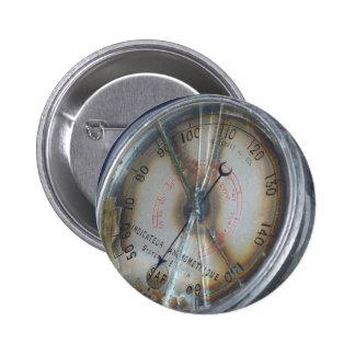 Aviation Gauge Button