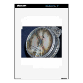 Aviation Gauge Decal For The iPad 2