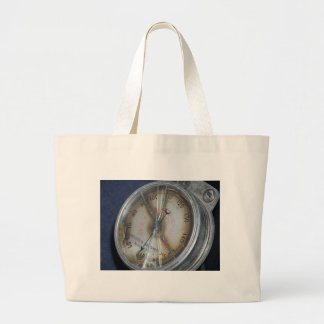 Aviation Gauge Large Tote Bag