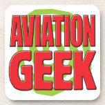 Aviation Geek Drink Coaster