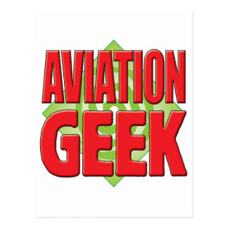 Aviation Geek v2 Postcard